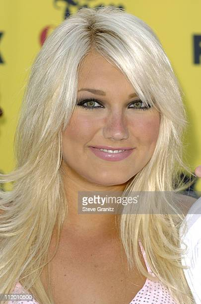 Brooke Hogan during 2005 Teen Choice Awards Arrivals at Gibson Amphitheatre in Universal City California United States