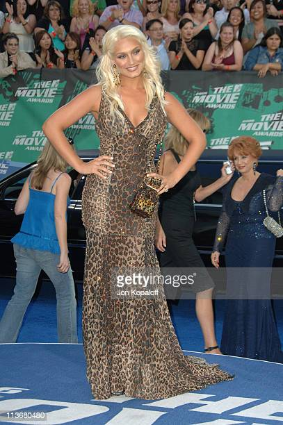 Brooke Hogan during 2006 MTV Movie Awards Arrivals at Sony Studios in Culver City California United States