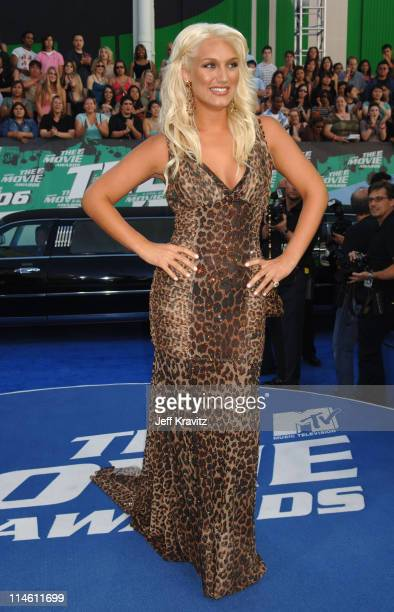Brooke Hogan during 2006 MTV Movie Awards Red Carpet at Sony Studios in Culver City California United States