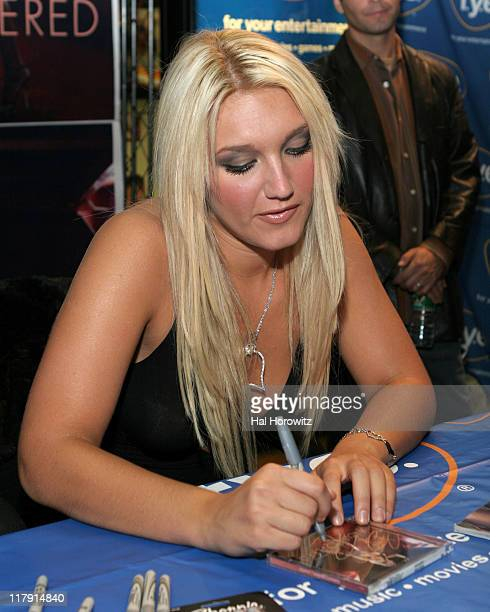 Brooke Hogan during Brooke Hogan Signs her New Album Undiscovered at FYE at FYE in New York City New York United States