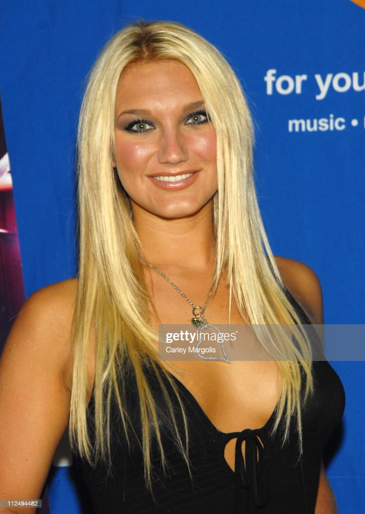 <a gi-track='captionPersonalityLinkClicked' href=/galleries/search?phrase=Brooke+Hogan&family=editorial&specificpeople=206443 ng-click='$event.stopPropagation()'>Brooke Hogan</a> during <a gi-track='captionPersonalityLinkClicked' href=/galleries/search?phrase=Brooke+Hogan&family=editorial&specificpeople=206443 ng-click='$event.stopPropagation()'>Brooke Hogan</a> Signs Her New CD 'Undiscovered' - October 24, 2006 at FYE in New York City, New York, United States.