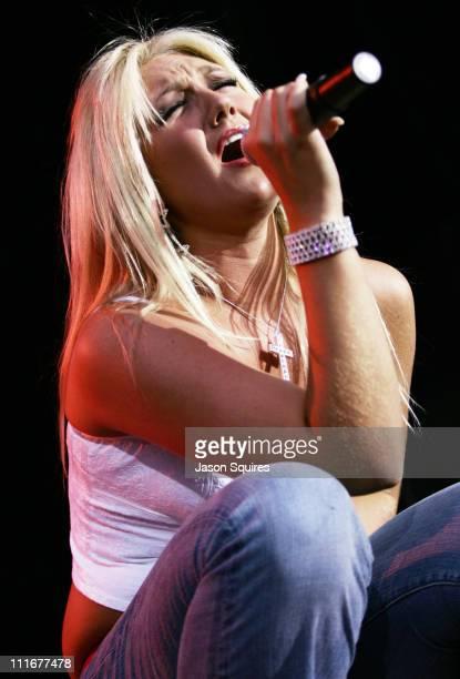 Brooke Hogan during KMXV's Red White and Boom at Verizon Wireless Amphitheater in Bonner Springs Kansas United States