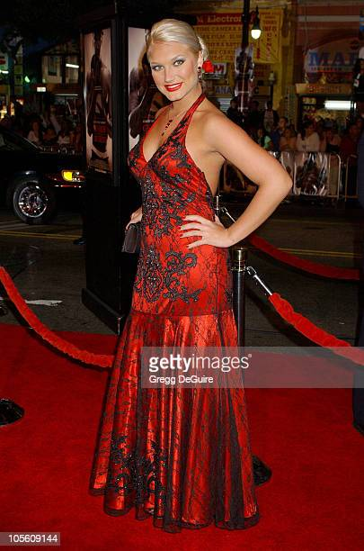 Brooke Hogan during Paramount Pictures' 'Get Rich or Die Tryin'' Los Angeles Premiere Arrivals at Grauman's Chinese Theatre in Hollywood California...