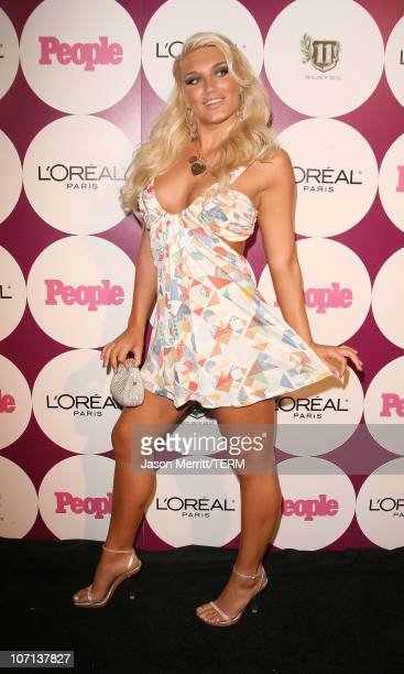 Brooke Hogan during The 49th Annual GRAMMY Awards People Magazine After Party Hosted By Beyonce Knowles in Los Angeles California United States