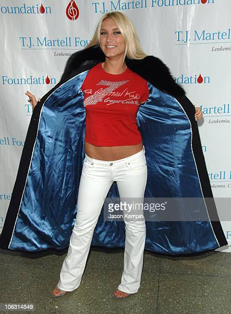 Brooke Hogan during The 8th Annual TJ Martell Foundation Family Day March 4 2007 at Roseland Ballroom in New York City New York United States