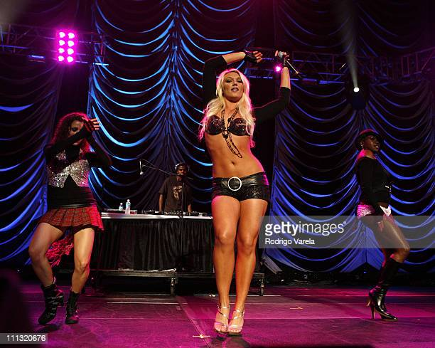 Brooke Hogan during Z100's Jingle Ball 2006 in Fort Lauderdale at Bank Atlantic Center in Fort Lauderdale Florida United States