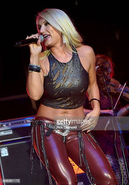 Brooke Hogan performs onstage at the Buddy Lee Attractions Party during Day 3 of the IEBA 2014 Conference on September 29 2014 in Nashville Tennessee