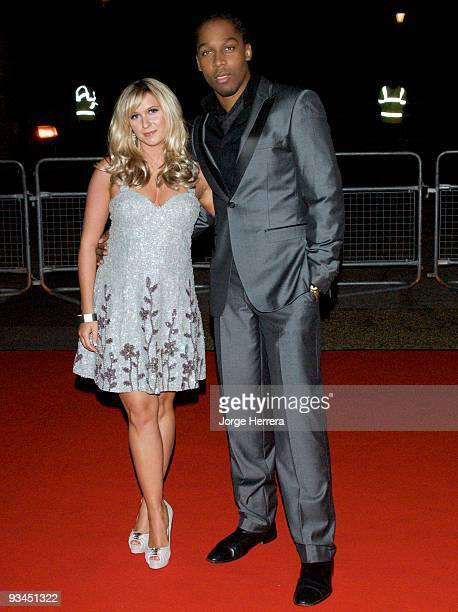 Brooke Kinsella and Lemar attend the Spirit of London awards at Alexandra Palace on November 27 2009 in London England