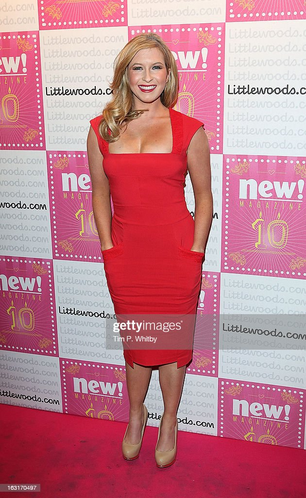 Brooke Kinsella attends New Magazine Celebrates 10 years in print at Gilgamesh on March 5, 2013 in London, England.