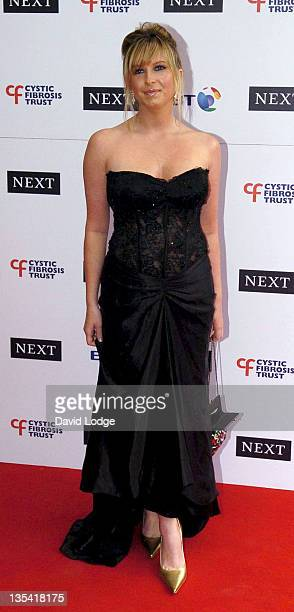Brooke Kinsella during Cystic Fibrosis Trust Breathing Life Awards Arrivals at Royal Lancaster Hotel in London Great Britain