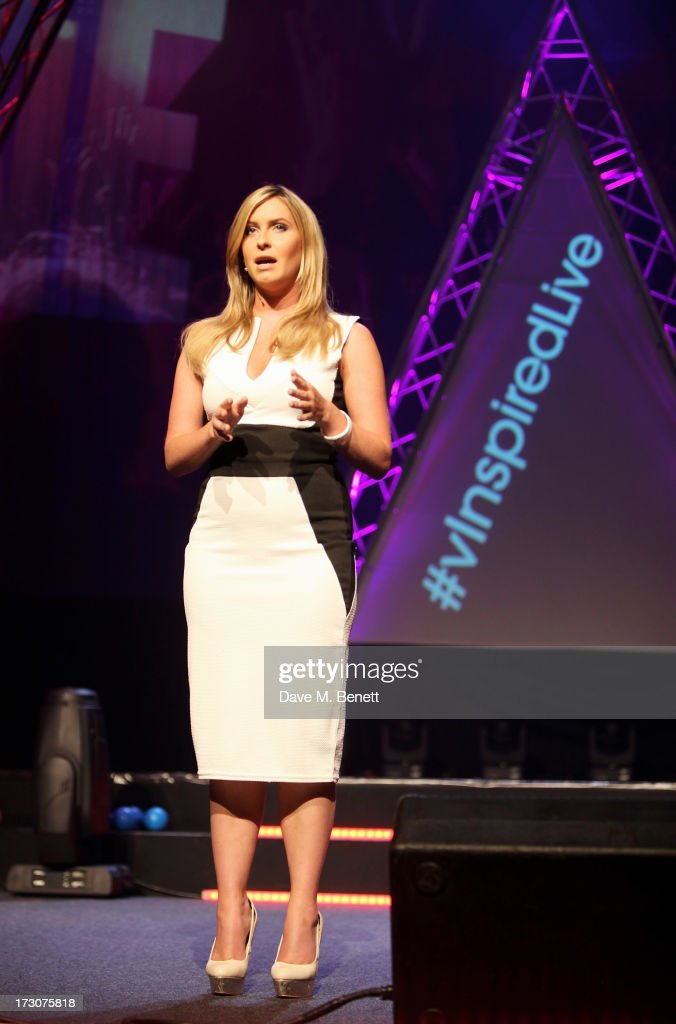 Brooke Kinsella speaks on stage at vInspired Live, a youth social change event, at The Roundhouse on July 6, 2013 in London, England.