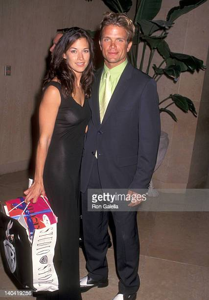 Brooke Langton and David Chokachi at the American Foundation for the Performing Arts' First Annual Friends Helping Friends Gala Honoring the Cast of...