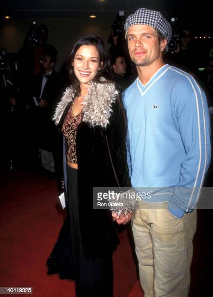 Brooke Langton and David Chokachi at the Premiere of 'Good Will Hunting' Mann Bruin Theatre Westwood