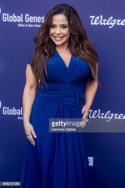 Brooke Lewis attends the Global Genes' 6th Annual Tribute To Champions Of Hope Awards at City National Grove of Anaheim on September 16 2017 in...