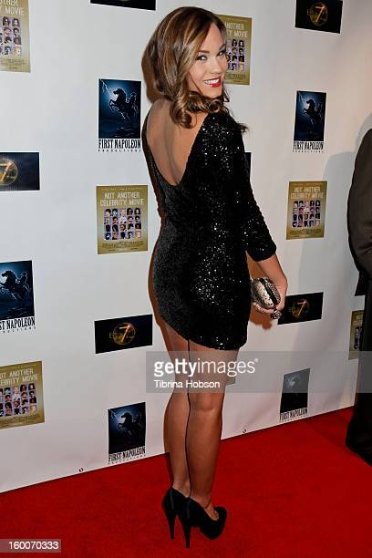 Brooke Lynn Howard attends the 'Not Another Celebrity Movie' Los Angeles premiere at Pacific Design Center on January 17 2013 in West Hollywood...