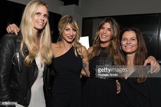 Brooke Mitchell Gym Owner Maddalena Corvaglia Elisabetta Canalis and Meredith Soelberg attend Elisabetta and Maddalena For SkyViewLA on December 9...