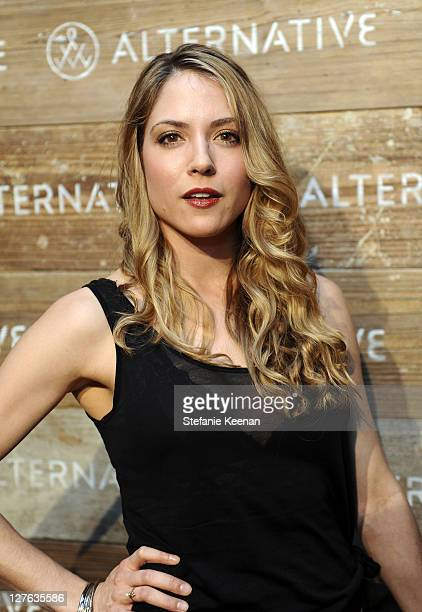 Brooke Nevin attends Alternative 'Seasons of Change' Fall 2011 Fashion Presentation at Palihouse Holloway on March 15 2011 in West Hollywood...