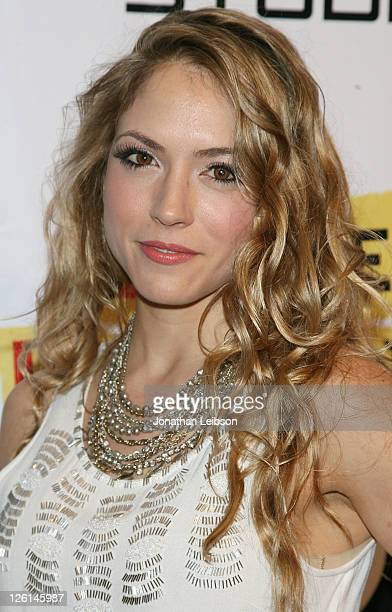 Brooke Nevin attends the 'Archie's Final Project' Los Angeles premiere at Laemmle Monica 4Plex on September 22 2011 in Santa Monica California
