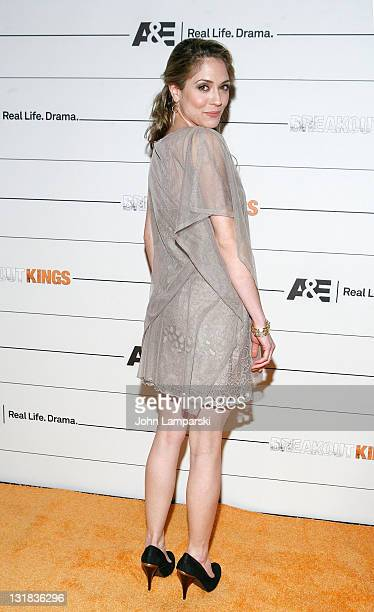Brooke Nevin attends the 'Breakout Kings' New York premiere party at SIR Stage 37 on March 2 2011 in New York City
