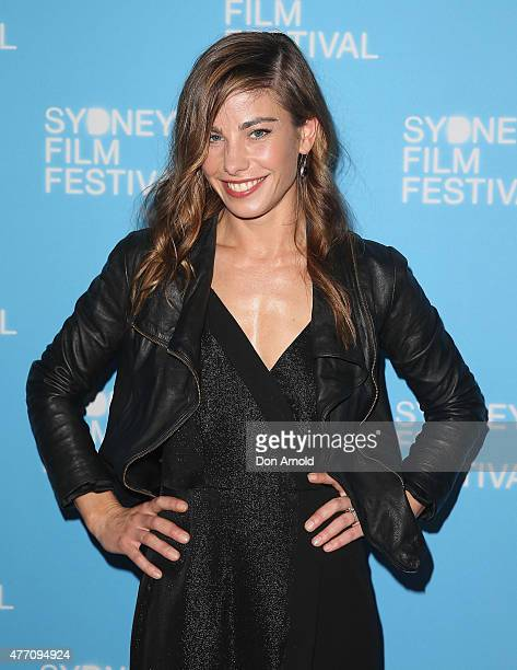 Brooke Satchwell arrives at the 'Holding The Man' World Premiere during the Sydney Film Festival Closing Night Gala at the State Theatre on June 13...