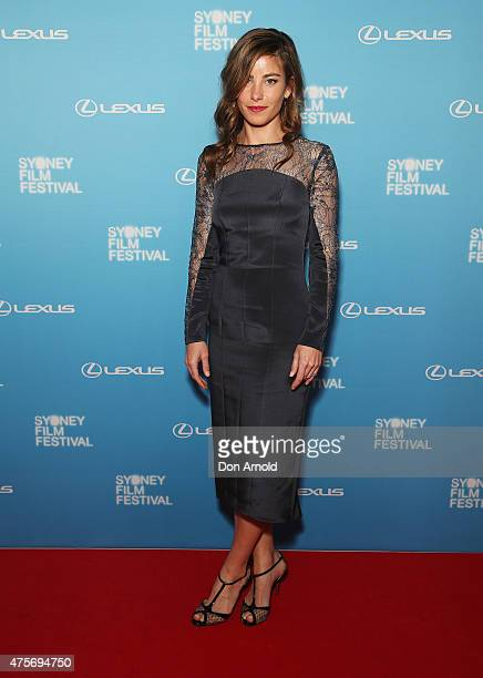 Brooke Satchwell arrives at the Sydney Film Festival Opening Night Gala at the State Theatre on June 3 2015 in Sydney Australia