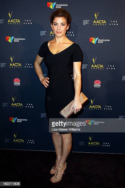 Brooke Satchwell attends the 2nd Annual AACTA Awards Luncheon at The Star on January 28 2013 in Sydney Australia