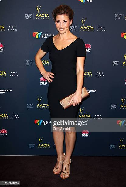Brooke Satchwell poses during the 2nd Annual AACTA Awards Luncheon at The Star on January 28 2013 in Sydney Australia