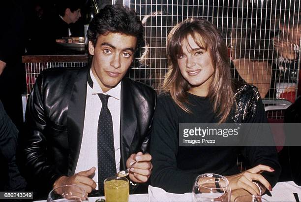 Brooke Shields and Anthony Delon circa 1984 in New York City
