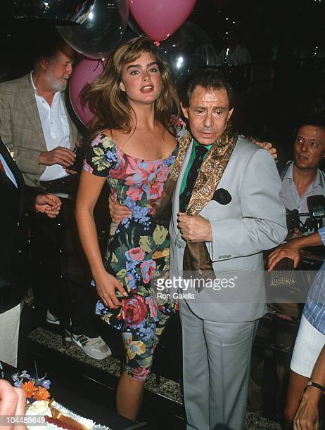 Brooke Shields and Eddie Fisher