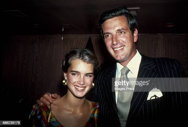 Brooke Shields and her father Frank Shields circa 1981 in New York City