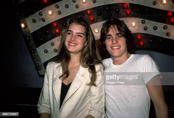 Brooke Shields and Matt Dillon circa 1980 in New York City