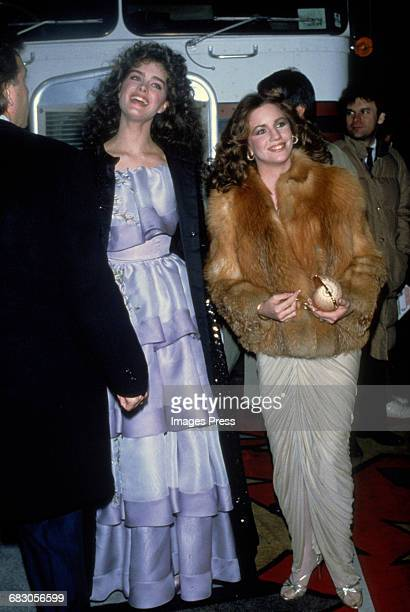 Brooke Shields and Melissa Gilbert circa 1982 in New York City
