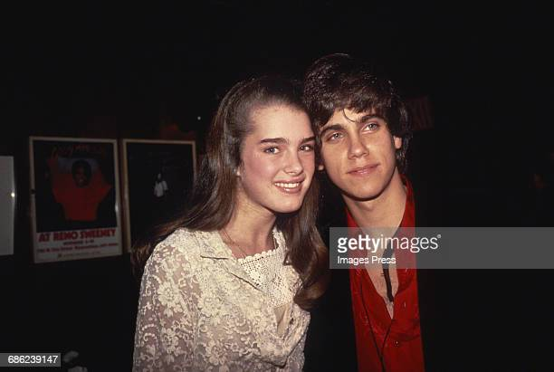 Brooke Shields and Robby Benson circa 1980 in New York City