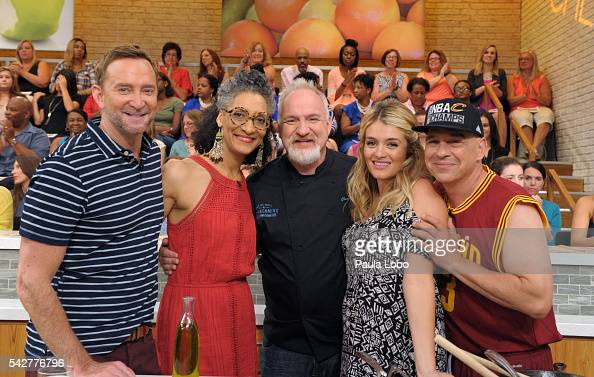 THE CHEW 6/22/16 Brooke Shields appears on THE CHEW airing MONDAY FRIDAY on the ABC Television Network SYMON