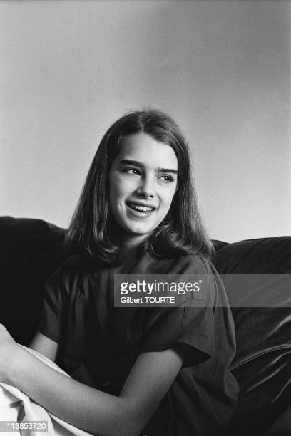Brooke Shields at Cannes Film Festival in 1978