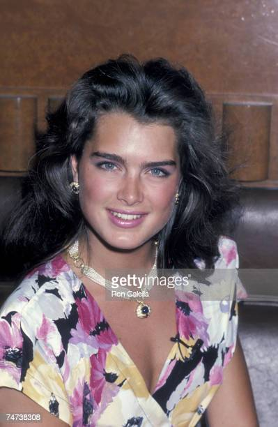Brooke Shields at the Cafe Seiyoken in New York City New York