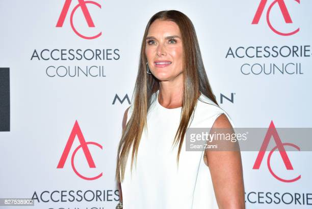 Brooke Shields attends 21st Annual Ace Awards at Cipriani 42nd Street on August 7 2017 in New York City