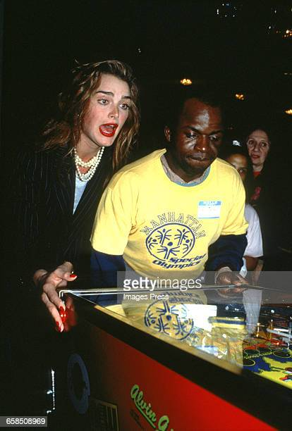 Brooke Shields attends a fundraiser for the Special Olympics circa 1993 in New York City