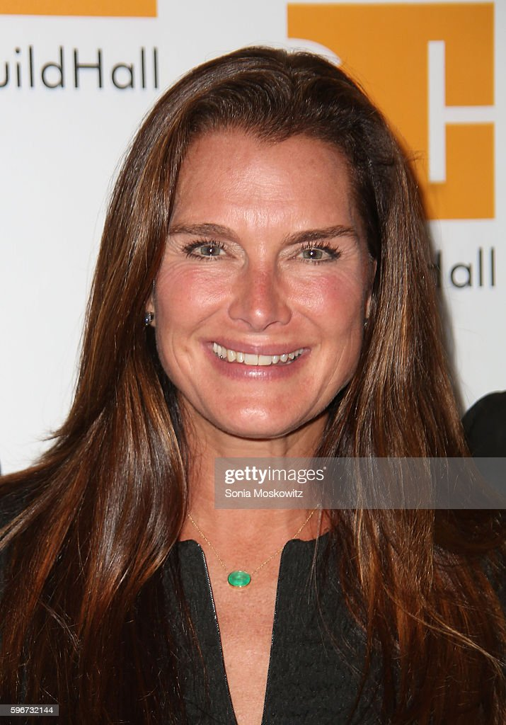 Brooke Shields attends 'Celebrity Autobiography' at Guild Hall on August 26 2016 in East Hampton New York