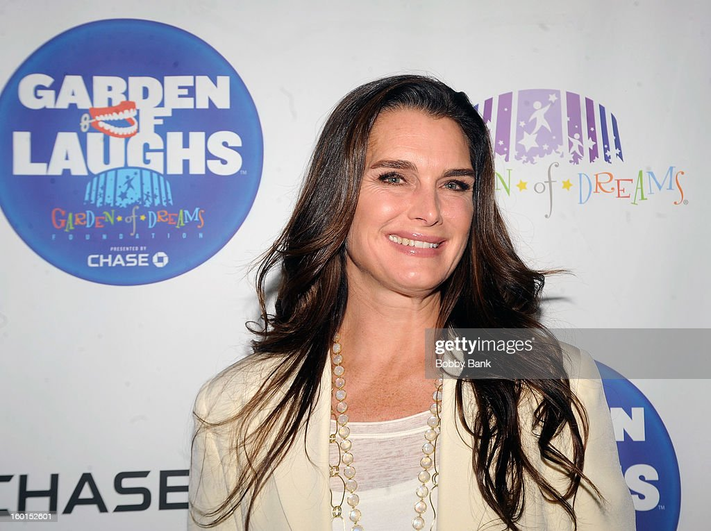Brooke Shields attends 'Garden Of Laughs' Benefit at Madison Square Garden on January 26, 2013 in New York City.