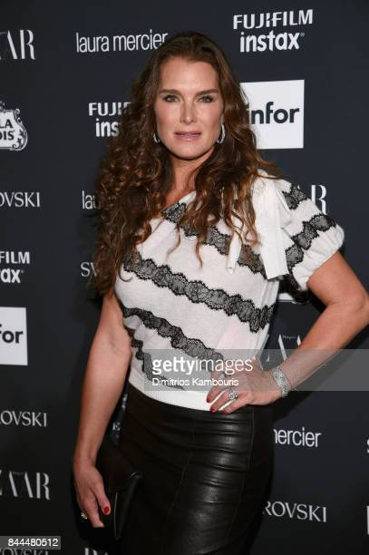 Brooke Shields attends Harper's BAZAAR Celebration of 'ICONS By Carine Roitfeld' at The Plaza Hotel presented by Infor Laura Mercier Stella Artois...