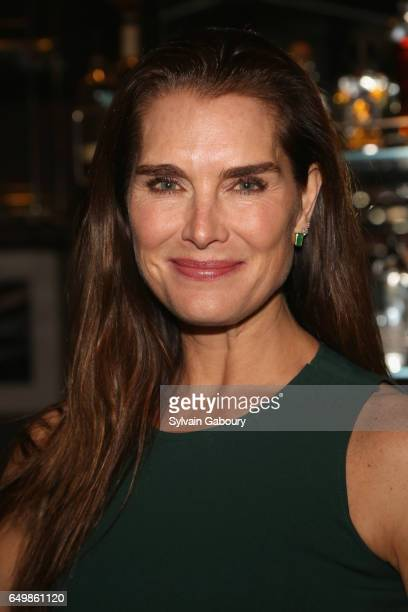 Brooke Shields attends Lizzie Jonathan Tisch with Kelly Ripa Mark Consuelos Celebrate Stacey Griffith's 'Two Turns from Zero' at The Regency Bar and...