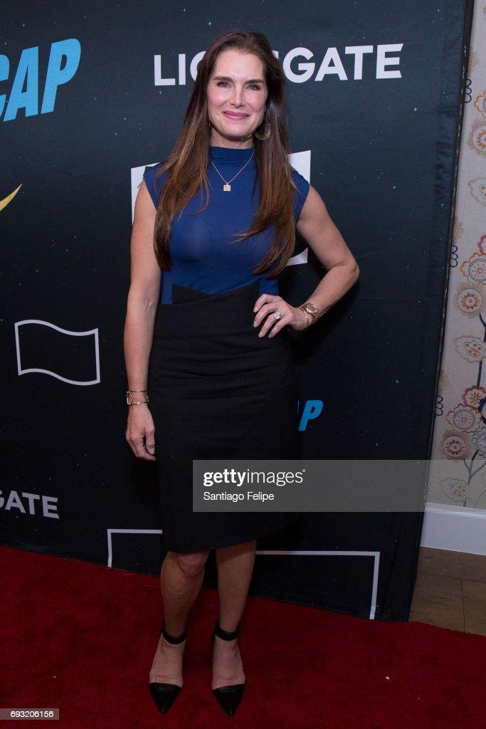 Brooke Shields attends 'Nightcap' Season 2 New York Premiere Party at Crosby Street Hotel on June 6, 2017 in New York City.