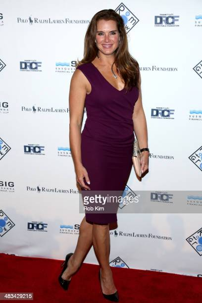 Brooke Shields attends the 2014 Room To Grow Gala at Capitale on April 8 2014 in New York City