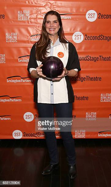 Brooke Shields attends the 30th Annual Second Stage AllStar Bowling Classic at Lucky Strike on January 30 2017 in New York City