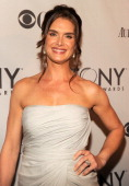 Brooke Shields attends the 65th Annual Tony Awards at the Beacon Theatre on June 12 2011 in New York City