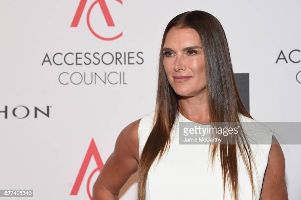 Brooke Shields attends the Accessories Council's 21st Annual celebration of the ACE awards at Cipriani 42nd Street on August 7 2017 in New York City