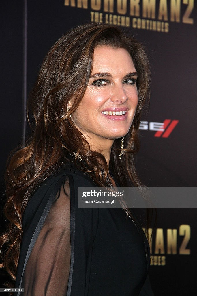 <a gi-track='captionPersonalityLinkClicked' href=/galleries/search?phrase=Brooke+Shields&family=editorial&specificpeople=202197 ng-click='$event.stopPropagation()'>Brooke Shields</a> attends the 'Anchorman 2: The Legend Continues' U.S. premiere at Beacon Theatre on December 15, 2013 in New York City.