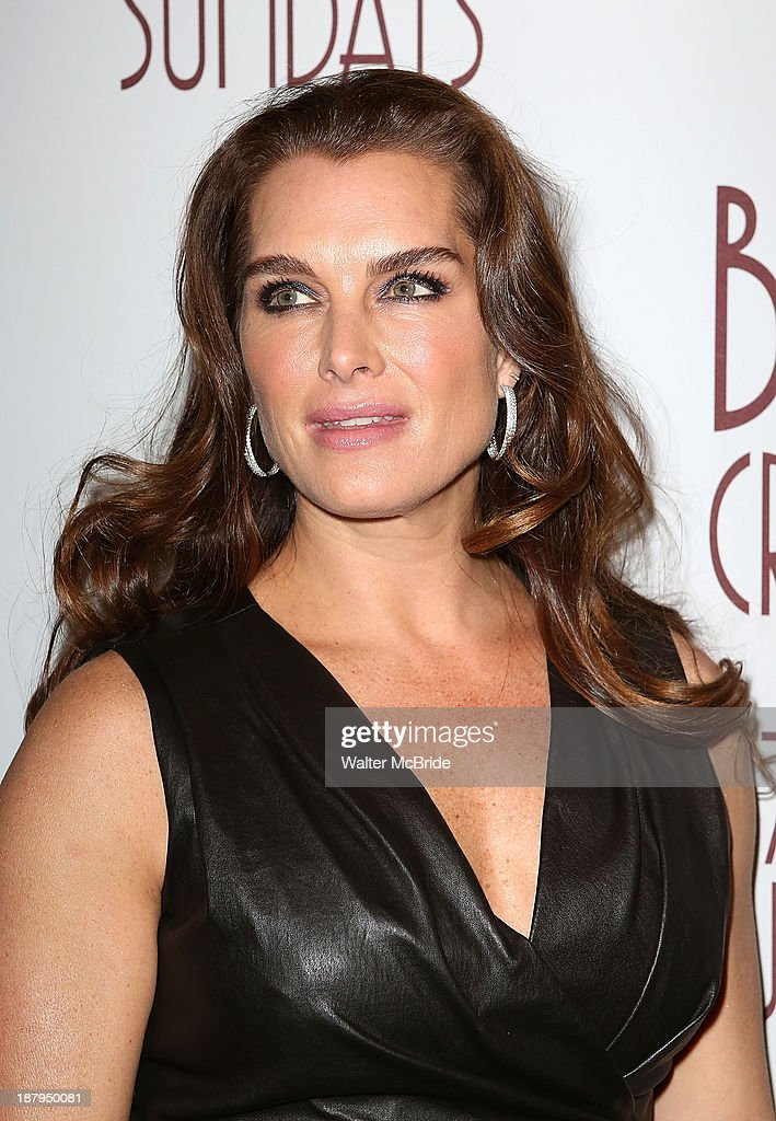Brooke Shields attends the 'Billy Crystal - 700 Sundays' Broadway Opening Night at the Imperial Theatre on November 13, 2013 in New York City.