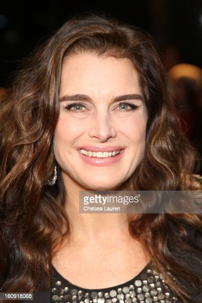 Brooke Shields attends the Kenneth Cole Collection Fall 2013 fashion show during MercedesBenz Fashion Week at 537 West 27th Street on February 7 2013...
